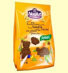 Noglut Galletas Jungla con Cacao Sin Gluten - Santiveri - 100 gramos