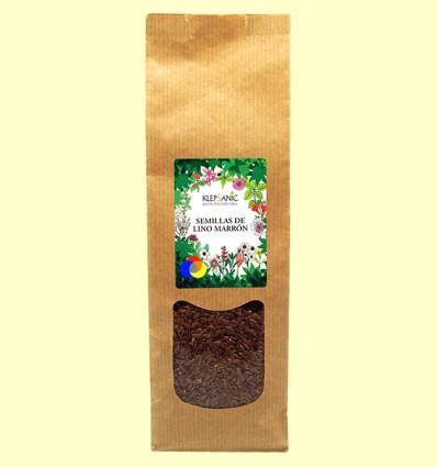Semillas de Lino Marrón - Klepsanic - 250 gramos