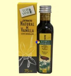 Extracto Natural de Vainilla Bourbon con Semillas 200 G/L - Euro Vanille - 75 ml