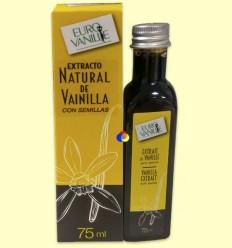 Extracto Natural de Vainilla Tahitensis con Semillas 400 G/L - Euro Vanille - 75 ml