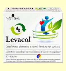 Levacol - Colesterol - Natysal - 60 cápsulas