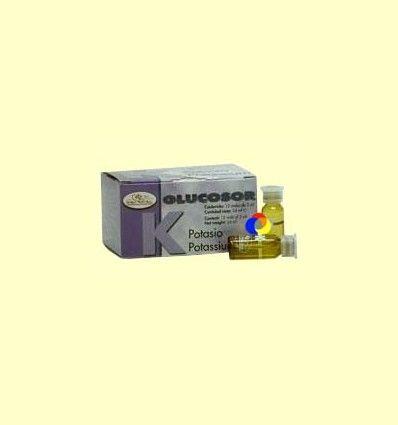 Glucosor Potasio - Soria Natural - 12 viales