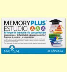 Memory Plus Estudio - Natysal - 30 cápsulas