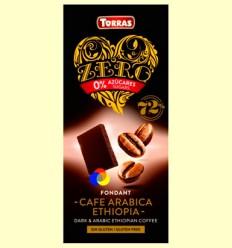 Chocolate negro con Café Arábica Zero - Torras - 100 gramos