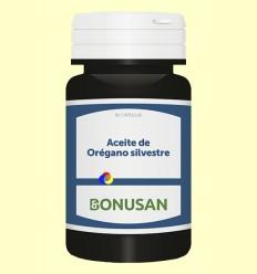 Aceite de Orégano Silvestre - Bonusan - 60 cápsulas