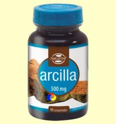 Arcilla 500 mg - Naturmil - 90 comprimidos
