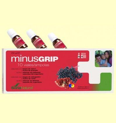 Minusgrip - Para reforzar las defensas - Soria Natural - 10 viales