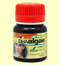DHA Algae - Inteligencia - MGdose - 30 comprimidos