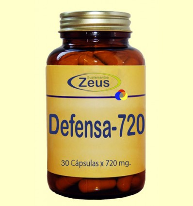 Defensa 720 - Sistema Inmunitario - Zeus Suplementos - 30 cápsulas
