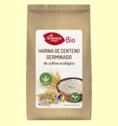 Harina de Centeno Germinado Bio - El Granero - 400 gramos