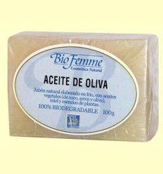 Jabón de aceite de oliva - Bio Femme - Ynsadiet - 100 gramos