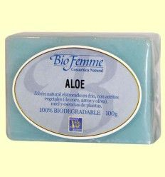 Jabón de aloe vera - Bio Femme - Ynsadiet - 100 gramos