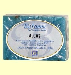 Jabón de algas - Bio Femme - Ynsadiet - 100 gramos