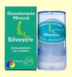 Desodorante Mineral Natural Incoloro - Silvestre - 100 gramos