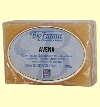 Jabón de avena - Bio Femme - Ynsadiet - 100 gramos