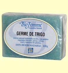 Jabón de germen de trigo - Bio Femme - Ynsadiet - 100 gramos