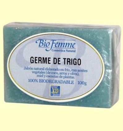Jabón de germen de trigo - Bio Femme - Ynsadiet
