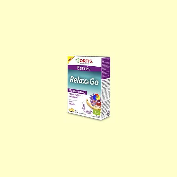 Relax&Go - Estrés - Ortis - 30 comprimidos
