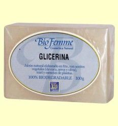 Jabón de glicerina - Bio Femme - Ynsadiet - 100 gramos
