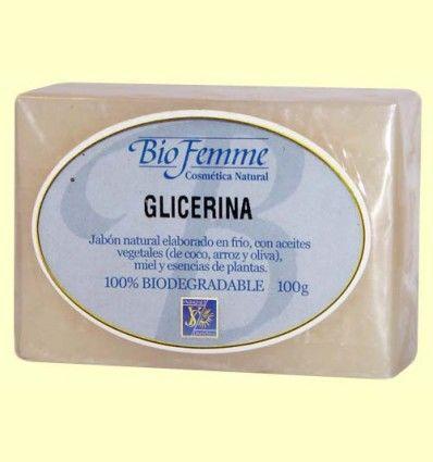 Jabón de glicerina - Bio Femme - Ynsadiet