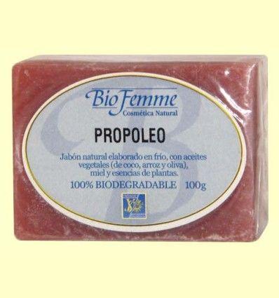 Jabón de propóleo - Bio Femme - Ynsadiet - 100 gramos