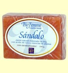 Jabón de sándalo - Bio Femme - Ynsadiet - 100 gramos