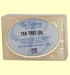 Jabón de tea tree oil - Bio Femme - Ynsadiet