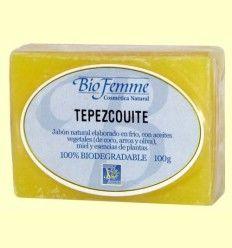 Jabón de tepezcohuite - Bio Femme - Ynsadiet - 100 gramos