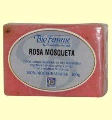 Jabón de rosa mosqueta - Bio Femme - Ynsadiet - 100 gramos