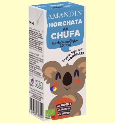 Horchata de Chufa Infantil Bio - Amandin - 200 ml