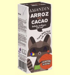 Arroz con Cacao Infantil Bio - Amandin - 200 ml