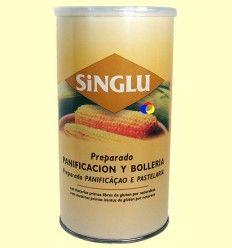 Preparado de Panificación y Bollería Sin Gluten - Singlu - 800 gramos