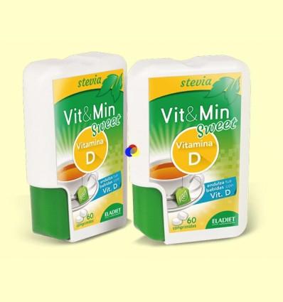 Vit&Min Sweet Vitamina D - Eladiet - 60 comprimidos