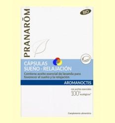 Sueño y Relajación Bio - Pranarom - 30 cápsulas