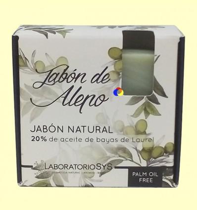 Jabón de Alepo - Laboratorio SyS - 80 gramos