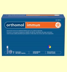 Orthomol Immun - Viales - Laboratorio Cobas - 7 raciones