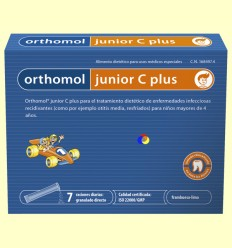 Orthomol Junior C Plus - Laboratorio Cobas - 7 sobres *