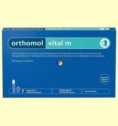 Orthomol Vital M - Viales - Laboratorio Cobas - 7 raciones