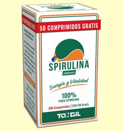 Spirulina Platensis - Tongil - 300 comprimidos