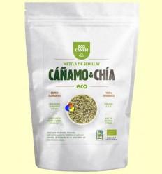 Mezcla de Semillas de Cáñamo Peladas con Chía Eco - Eco Canem - 200 gramos
