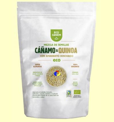 Mezcla de Semillas de Cáñamo con Quinoa y Amaranto Hinchados Eco - Eco Canem - 200 gramos