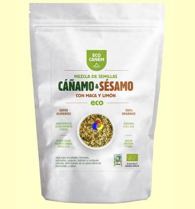 Mezcla de Semillas de Cáñamo y Sésamo con Maca y Limón Eco - Eco Canem - 200 gramos