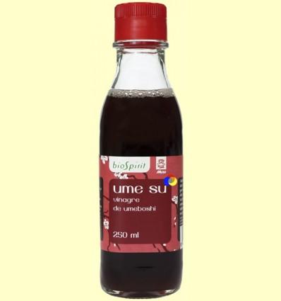 Ume Su - Vinagre de Umeboshi - BioSpirit - 250 ml
