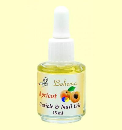 Aceite para las uñas y cutículas Albaricoque - Bohema - 15 ml