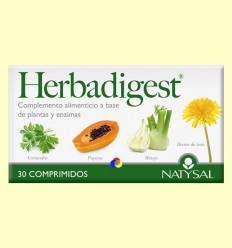 Herbadigest - Digestivo - Natysal - 30 comprimidos