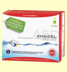Ansidel - Control del Apetito - Novadiet - 60 cápsulas