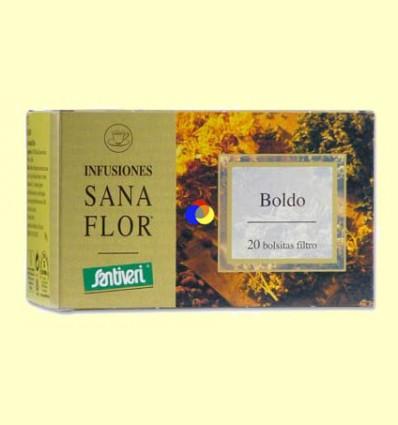 Sanaflor Infusión Boldo - Santiveri - 20 Bolsitas