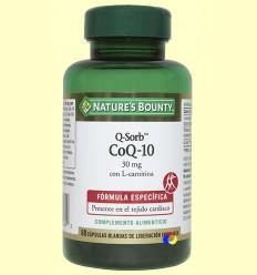 CoQ-10 - Q-Sorb - Nature's Bounty - 60 cápsulas