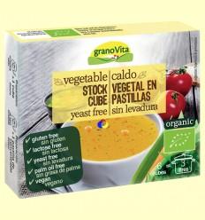 Caldo de Verduras Eco - Granovita - 6 pastillas