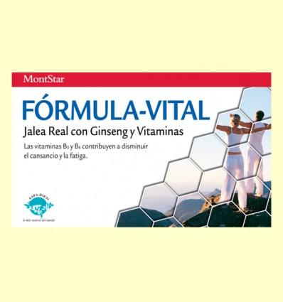 Fórmula-Vital - Cansancio y Fatiga - Montstar - 20 viales